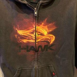 💗Boys Med Vintage Tony Hawk zip up hoodie.